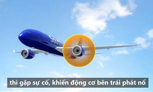 Diễn biến vụ hành khách bị hút khỏi máy bay Mỹ nổ động cơ