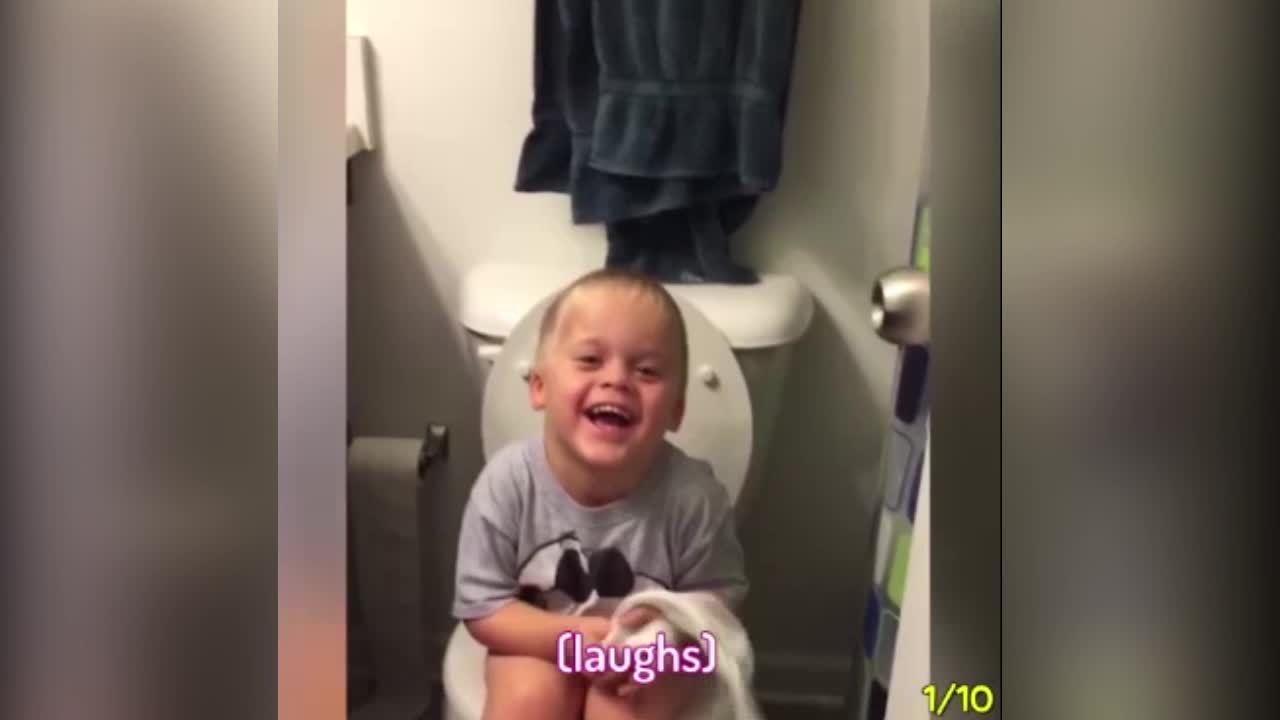 Lũ trẻ ngơ ngác khi bị các bà mẹ chơi khăm
