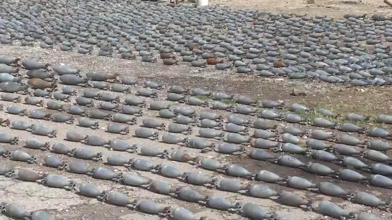 Syria phát hiện nhiều vũ khí NATO bị phiến quân bỏ lại