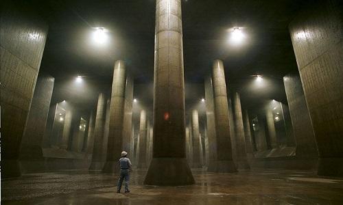 Bên trong hệ thống cống ngầm lớn nhất thế giới ở Nhật Bản