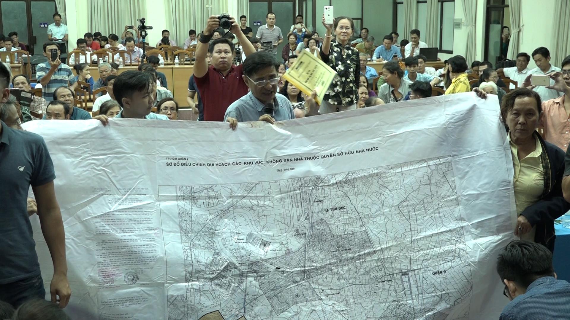 Bản đồ điều chỉnh quy hoạch Quận 2