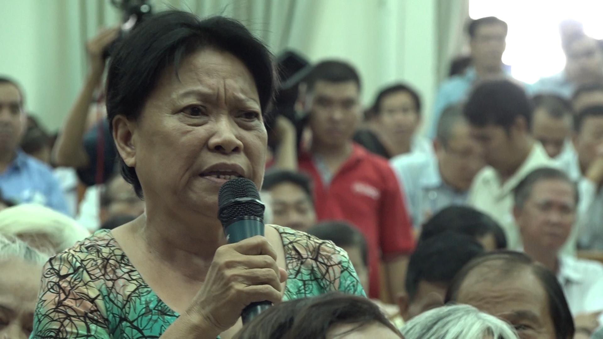 Cử tri bức xúc trước đại biểu Quốc hội về quy hoạch Thủ Thiêm