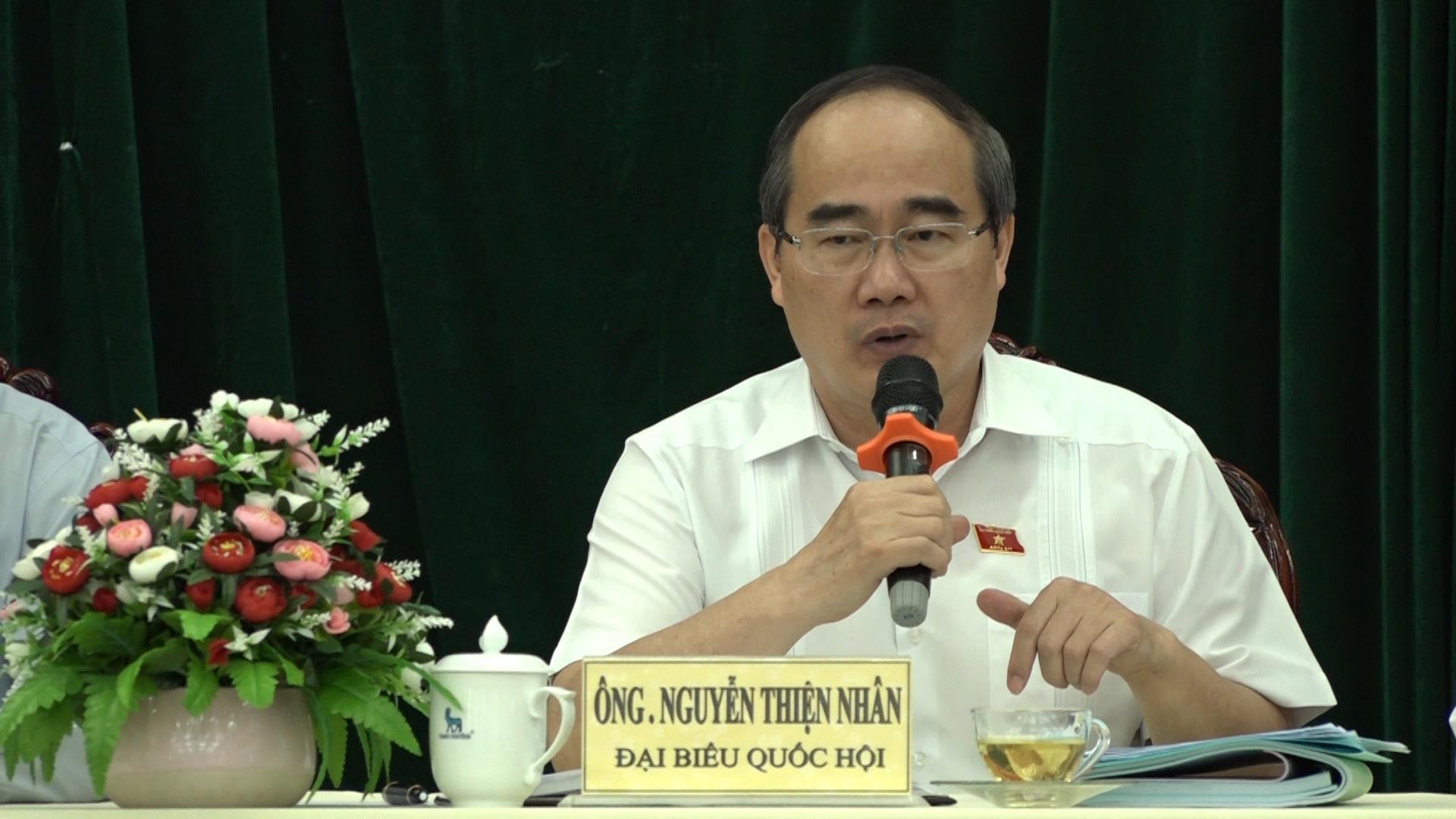 Bí thư Thành ủy TP HCM sẽ tiếp người dân Thủ Thiêm sau kỳ họp Quốc hội
