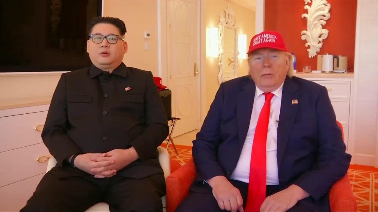 Người đóng giả Trump và Kim tin họ 'truyền cảm hứng' cho cuộc gặp Mỹ - Triều