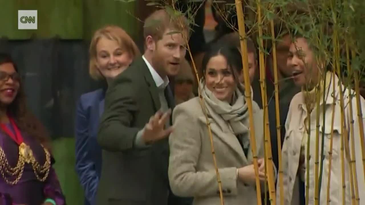 Chuyện tình cổ tích của Hoàng tử Harry và nữ diễn viên Mỹ
