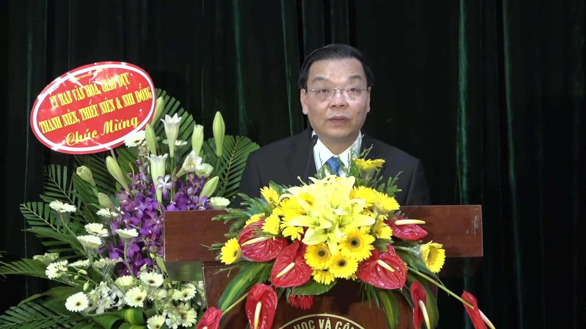 Bô trưởng Chu Ngoc ANh