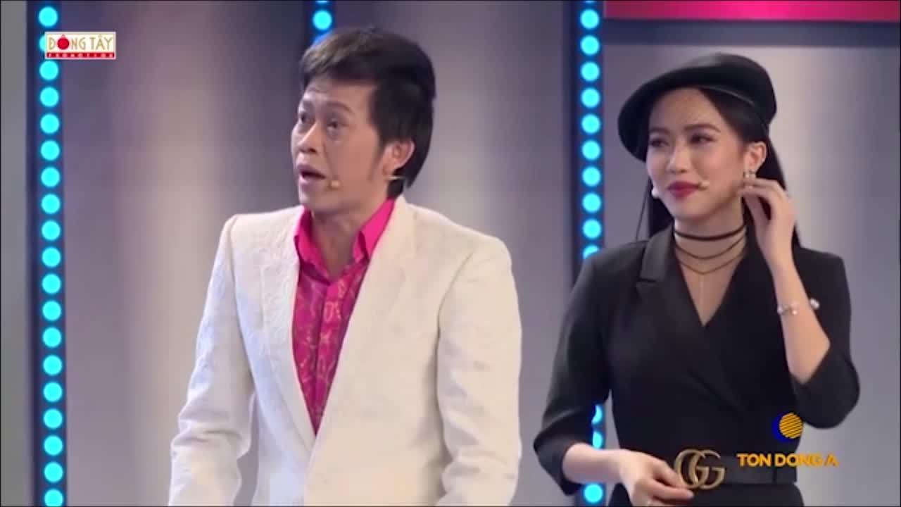 Diệu Nhi méo mặt vì bị Hoài Linh và Việt Hương 'dập' te tua