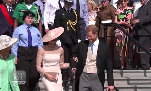 Vợ chồng Harry tham dự sự kiện hoàng gia đầu tiên sau đám cưới