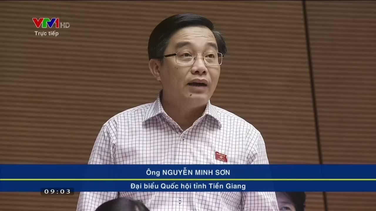 Đại biểu Nguyễn Minh Sơn - Tiền Giang