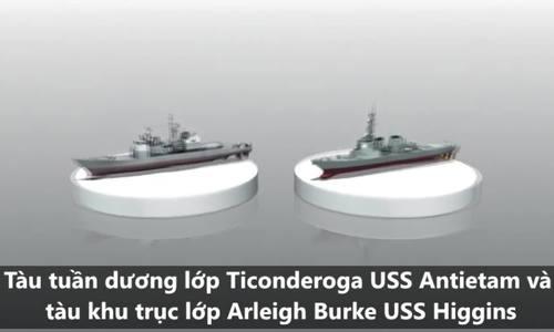 Diễn biến vụ tàu chiến Mỹ tuần tra sát quần đảo Hoàng Sa