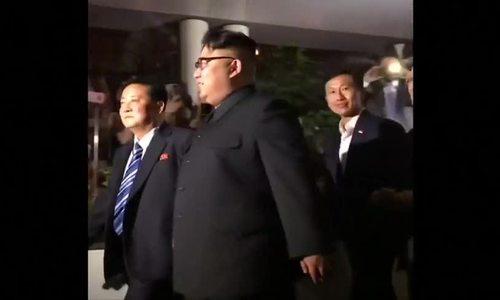 Kim Jong-un tham quan Singapore trong đêm