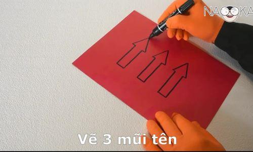 Làm thế nào để đảo chiều mũi tên vẽ trên giấy?