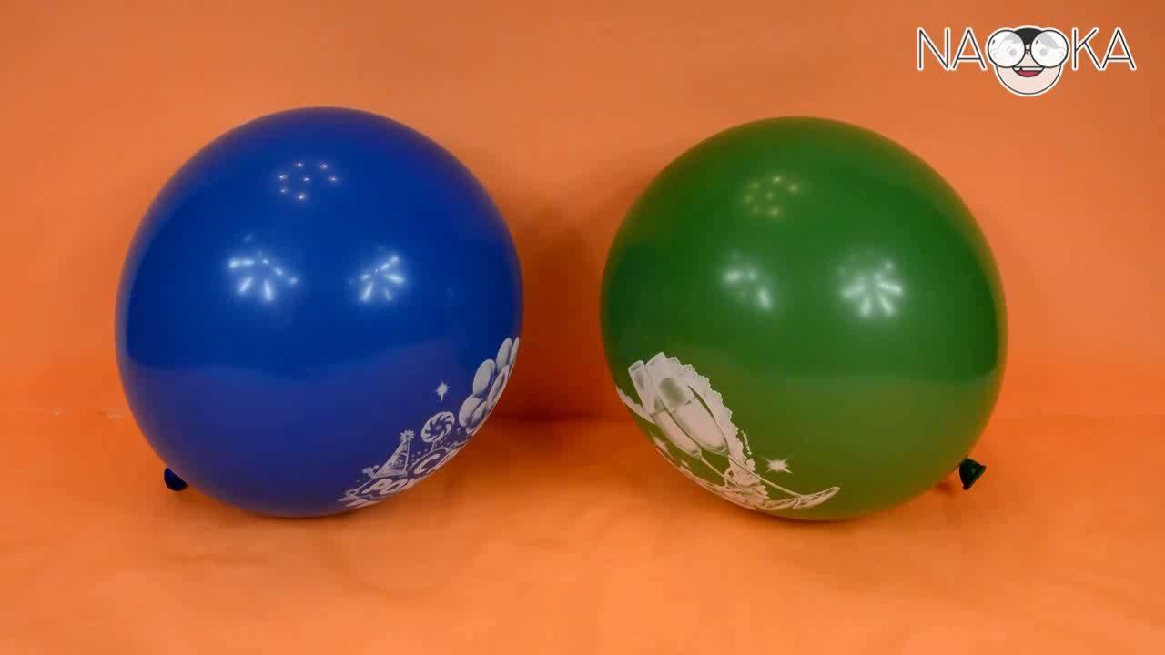 Tại sao bóng không nổ khi đè lên vật nhọn?