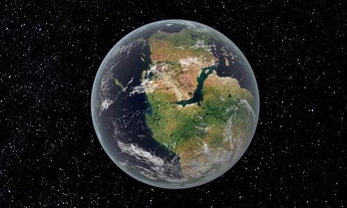 Thay đổi trên Trái Đất khi các lục địa sáp nhập thành một