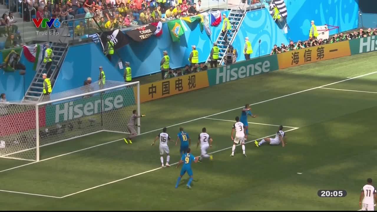 Brazil 2-0 Costa Rica