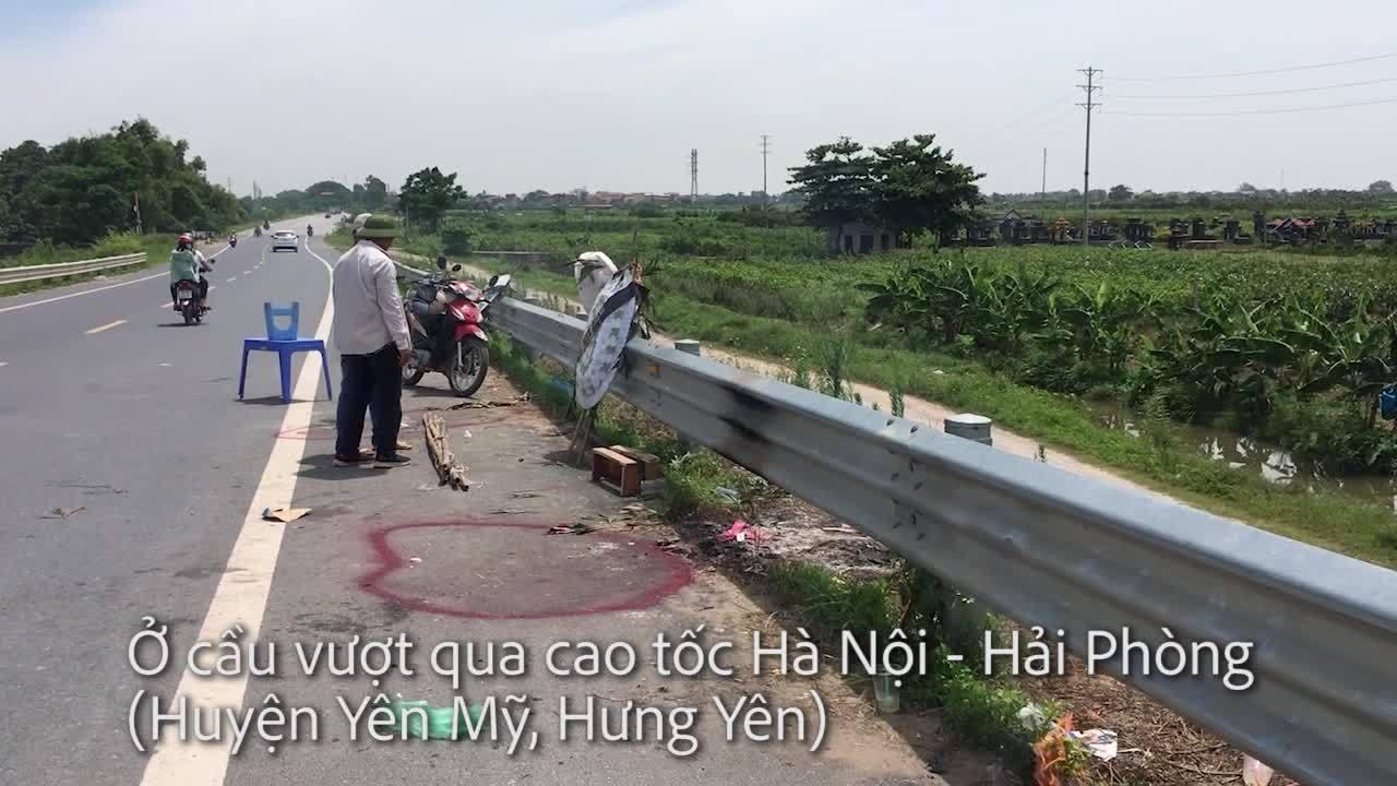 Video hai bé gái tử vong ở Hưng Yên