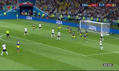 Đức 2-1 Thụy Điển