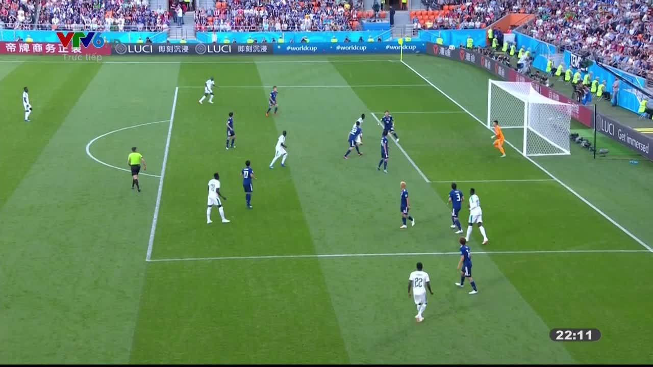 Nhật Bản 2-2 Senegal