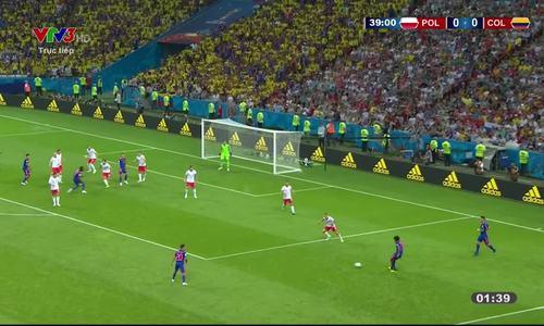 Ba Lan 0-3 Colombia