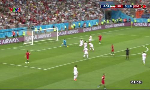 Iran 1-1 Bồ Đào Nha