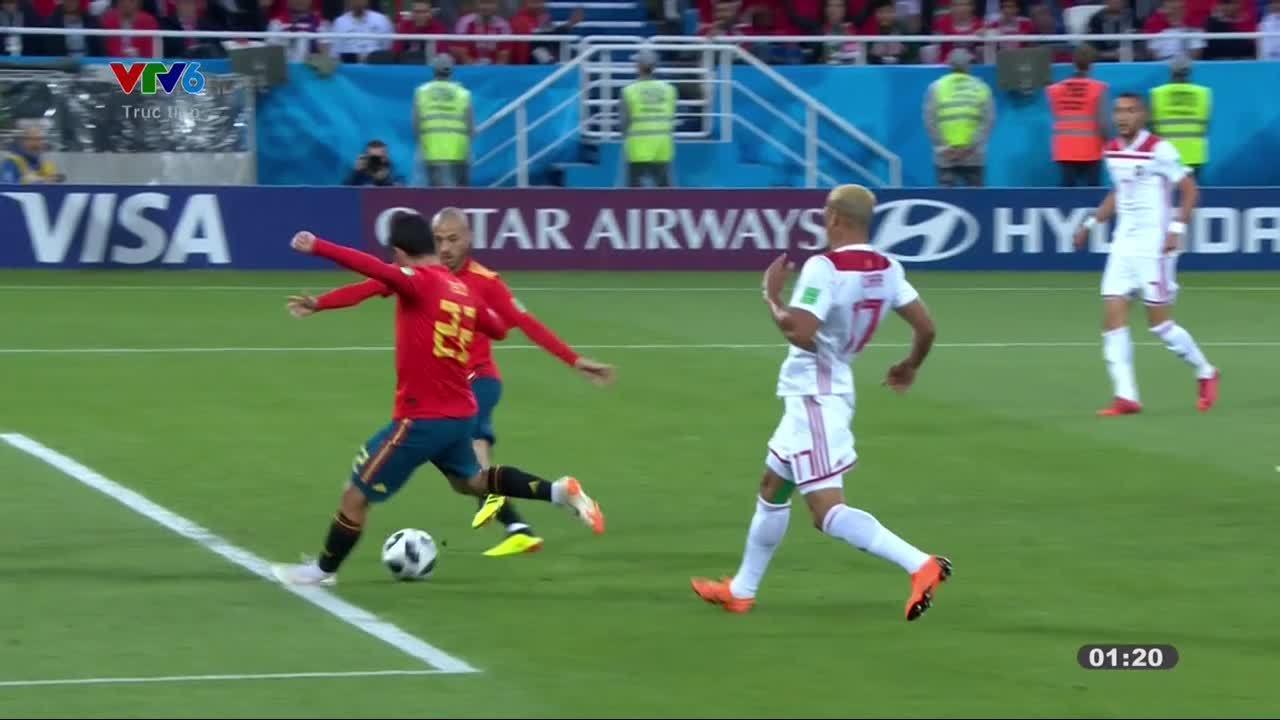 Tây Ban Nha2-2 Morocco
