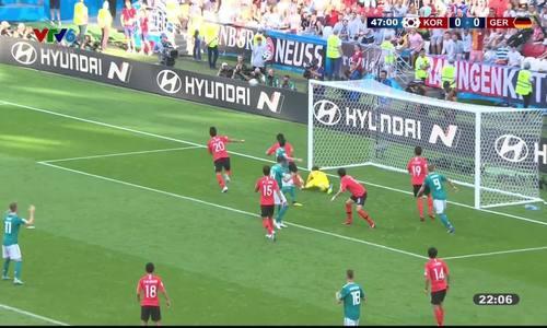 Đức 0-2 Hàn Quốc