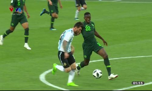 Nigeria 1-2 Argentina