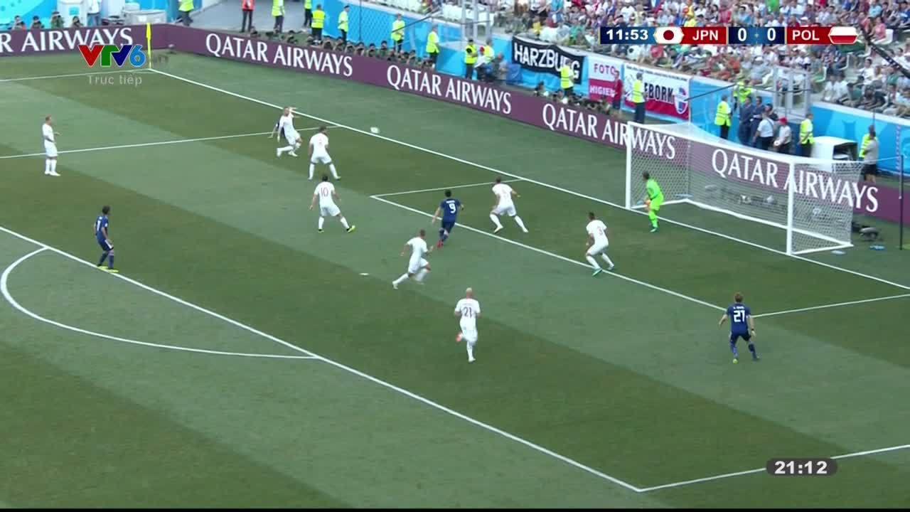 Nhật Bản 0-1 Ba Lan
