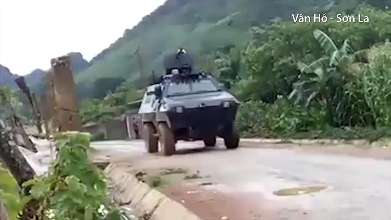 Cuộc vây bắt hai trùm ma túy bị truy nã tại Sơn La