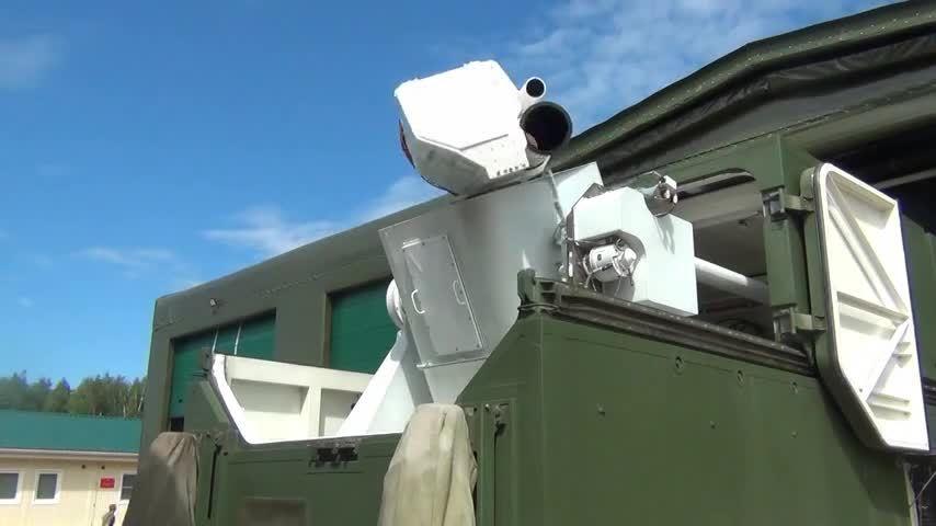 Tổ hợp chiến đấu laser tối tân của Nga