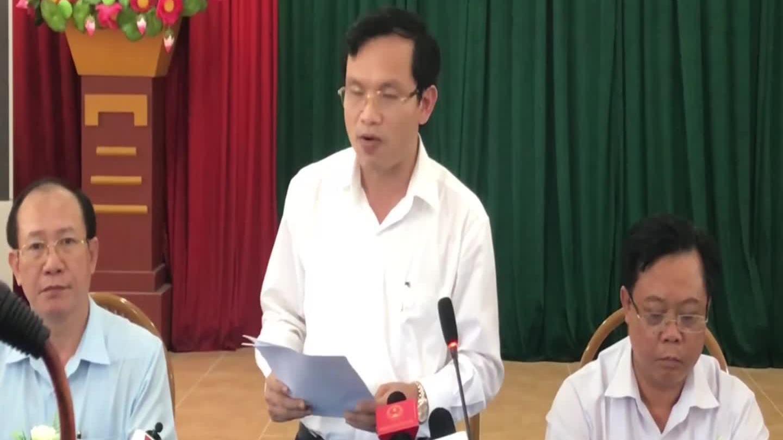 Ông Mai Văn Trinh đọc 6 sai phạm ở Sơn La