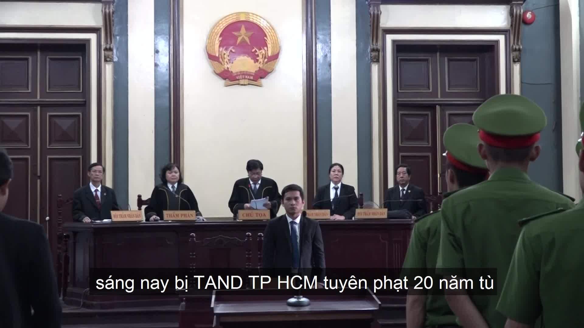 Ông Phạm Công Danh lĩnh 20 năm tù