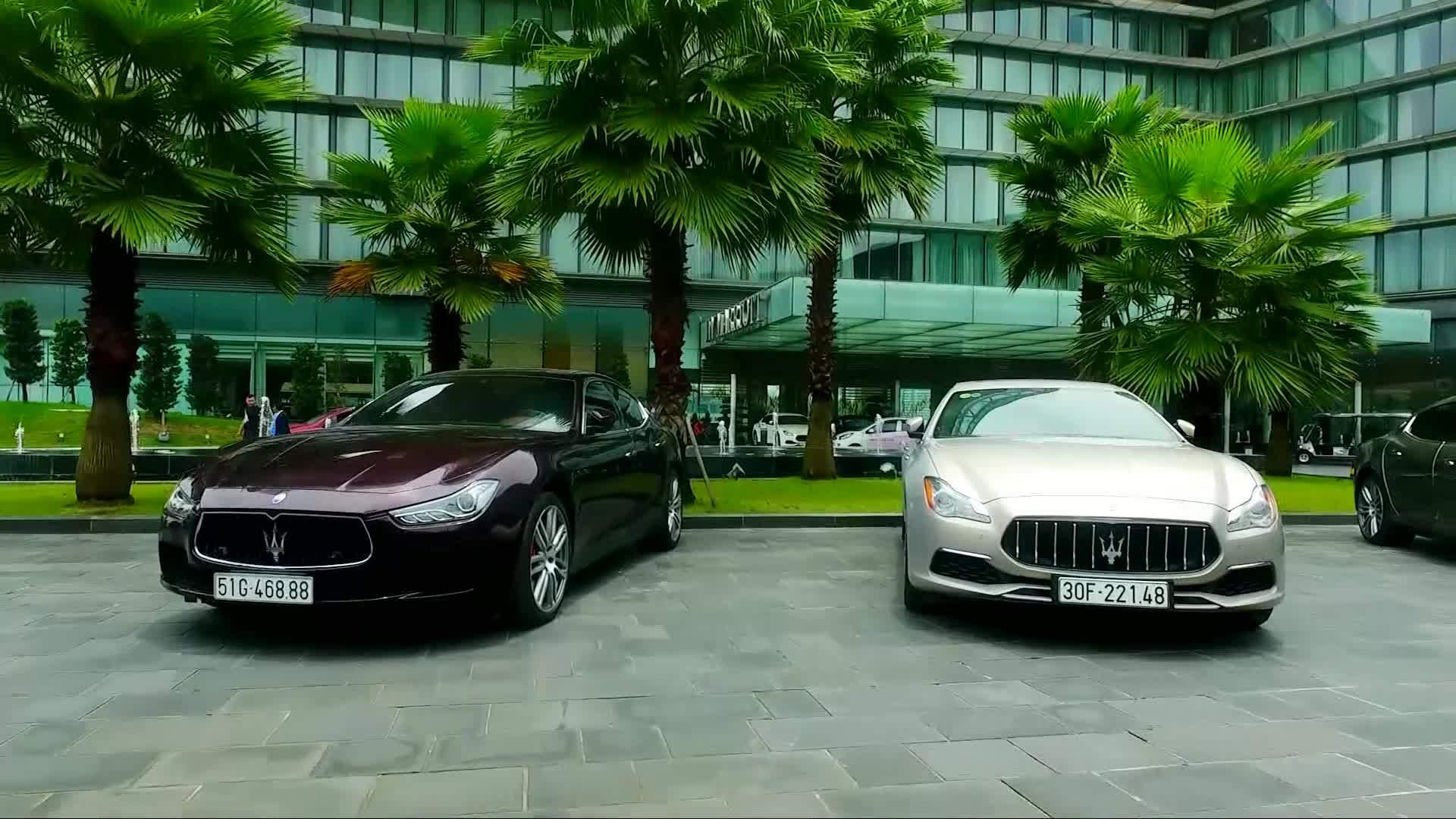 Maserati ra mắt khu trưng bày tại JW Marriott Hà Nội