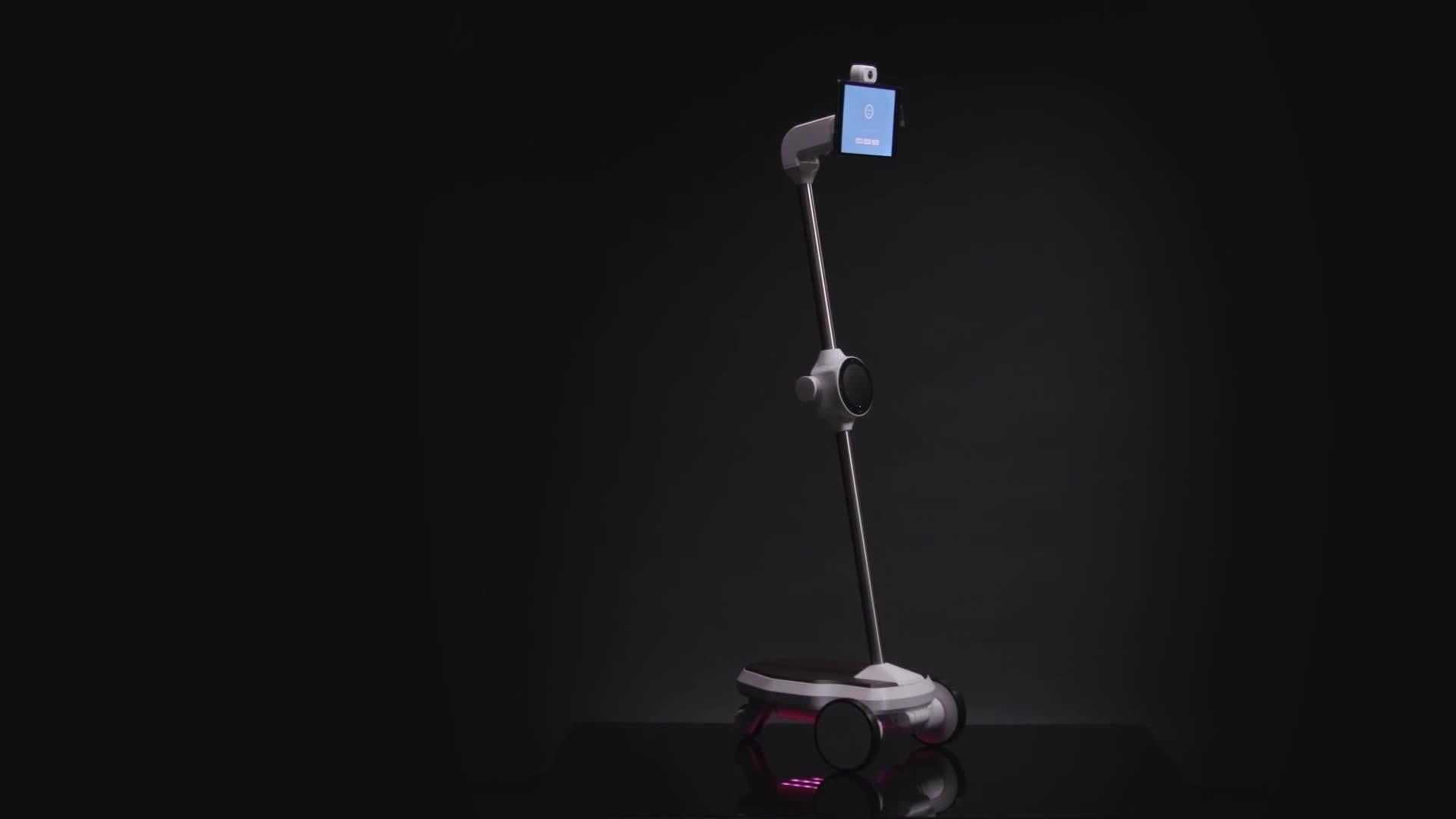 Robot giúp khỏa lấp khoảng cách của người xa gia đình