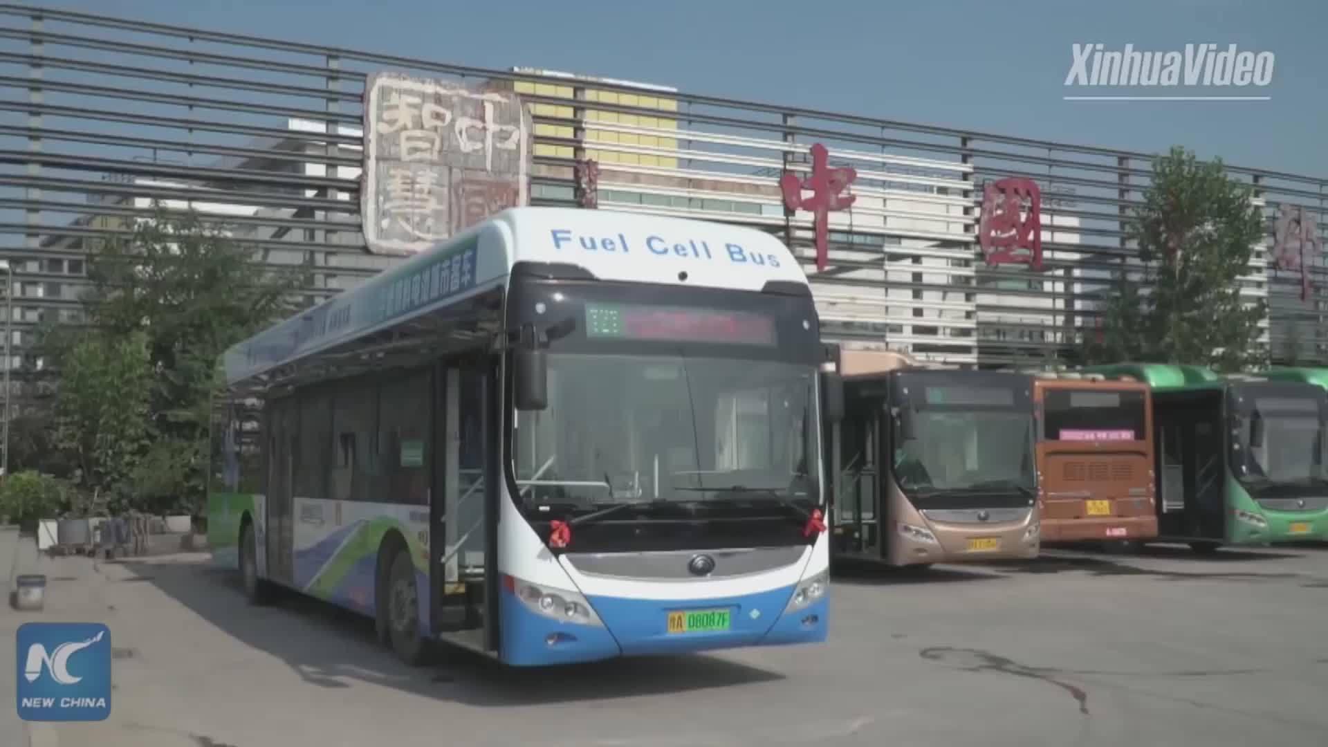 Trung Quốc đưa xe buýt chạy bằng nhiên liệu hydro vào hoạt động