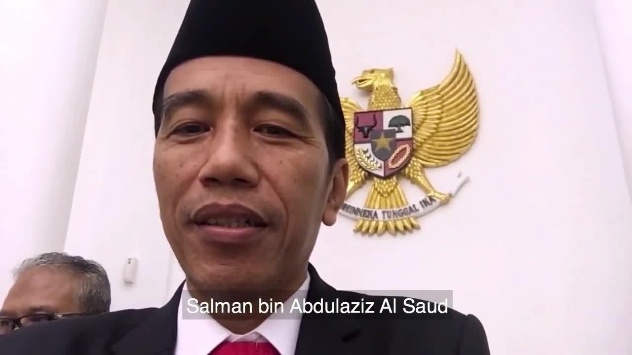 Tổng thống Indonesia ăn trưa với Quốc vương Arab Saudi