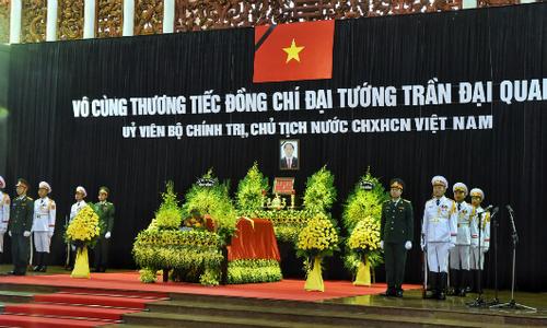 Truyền hình trực tiếp lễ tang Chủ tịch nước Trần Đại Quang