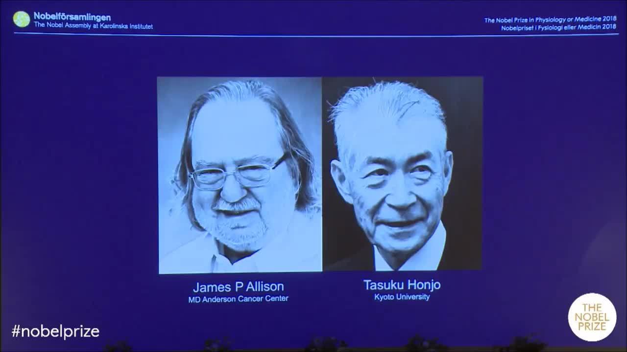Công bố giải Nobel Y học
