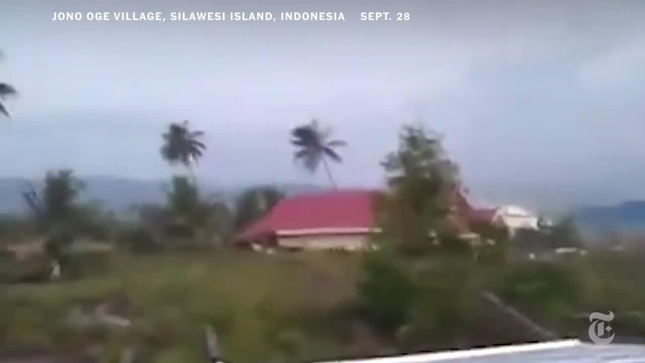 Hậu quả của hiện tượng đất hóa lỏng trong động đất Indonesia