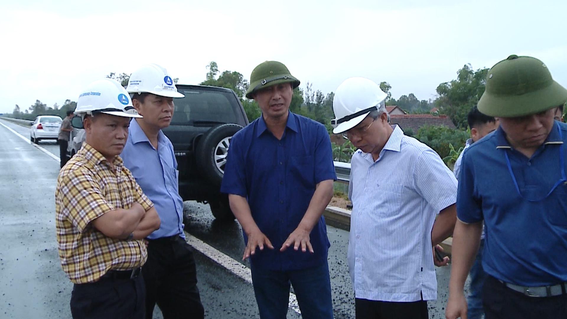 Các điểm hư hỏng tại cao tốc Đà Nẵng - Quảng Ngãi chưa được khắc phục