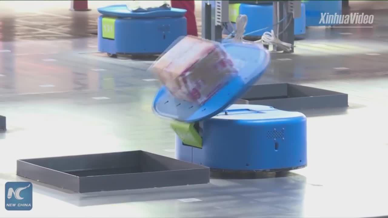 Đội quân robot tự động xử lý 500.000 đơn hàng mỗi ngày