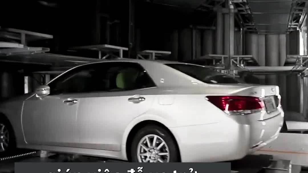 Hầm tự động đưa xe vào chỗ đậu trong 25 giây ở Nhật