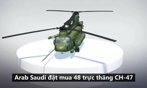 Loạt vũ khí 110 tỷ USD khiến Mỹ khó trừng phạt Arab Saudi
