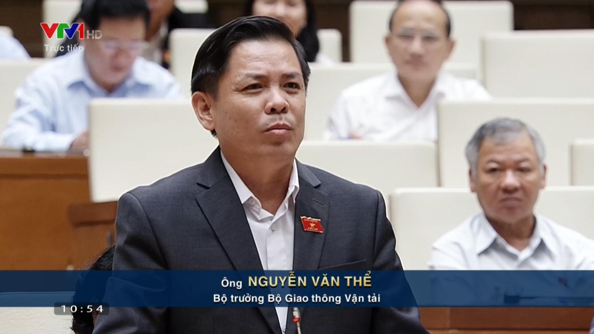 Bộ trưởng Bộ Giao thông Nguyễn Văn Thể