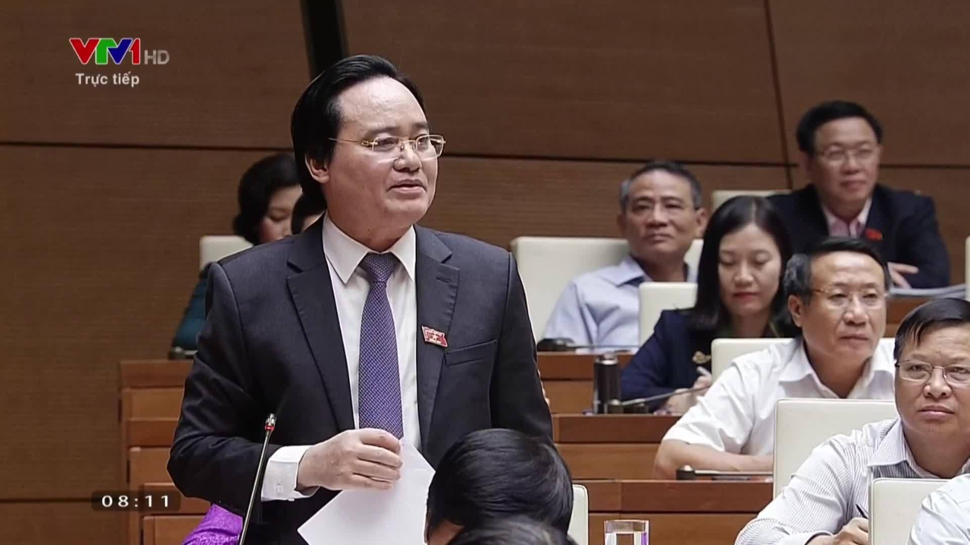 Bộ trưởng Phùng Xuân Nhạ nói về nghị định sinh viên bán dâm