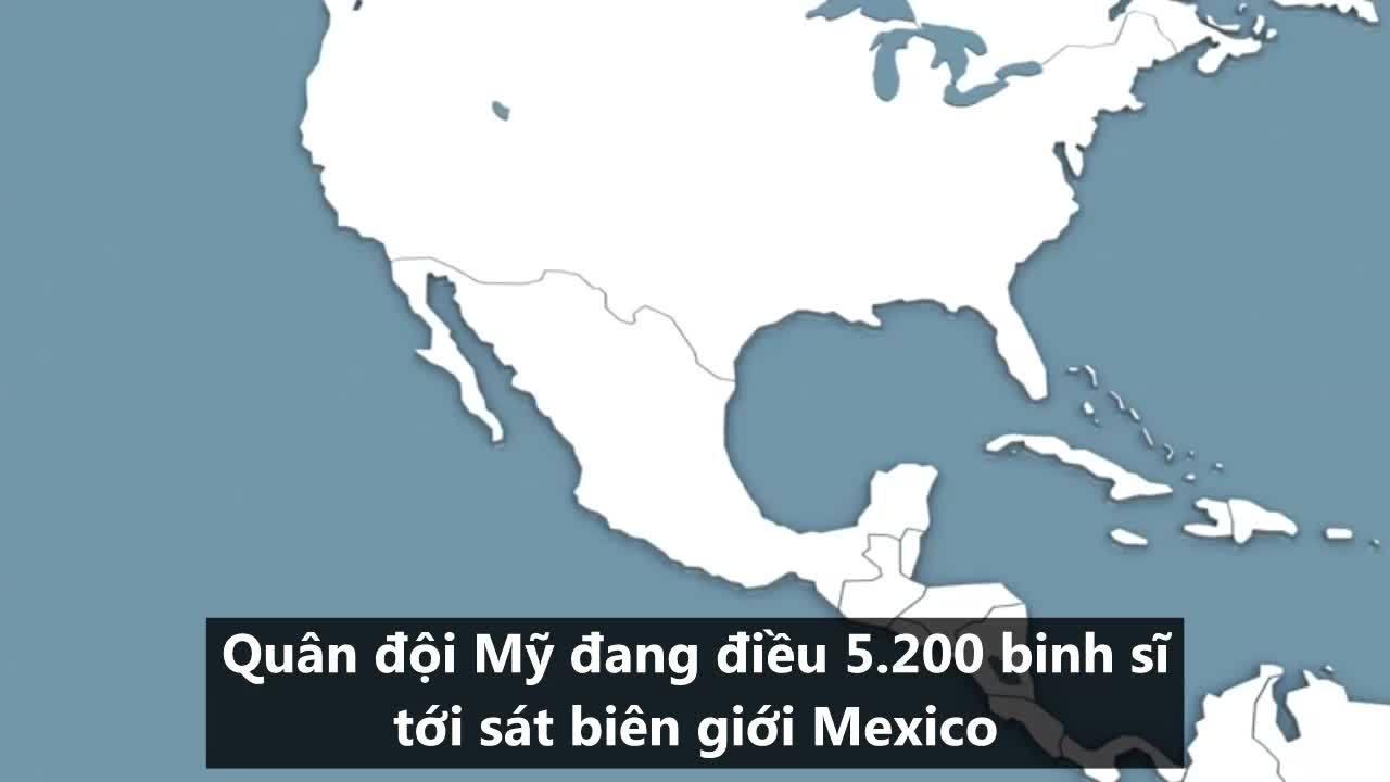 Chiến dịch đối phó đoàn di cư Honduras của quân đội Mỹ
