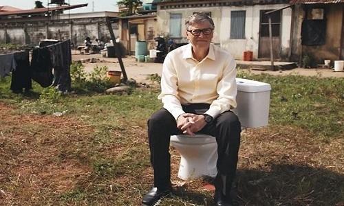 Tỷ phú Bill Gates giới thiệu mẫu toilet tương lai