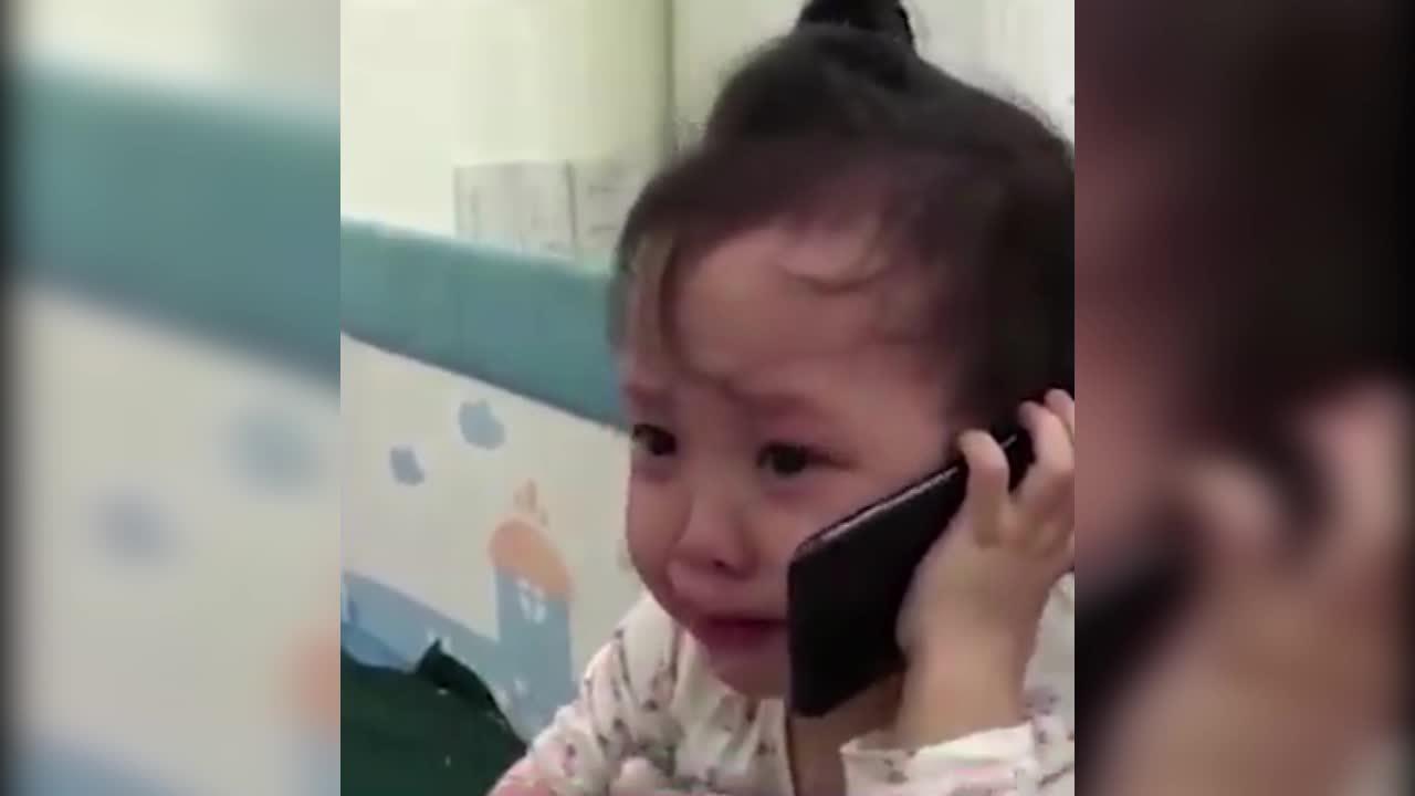 Bé gái gọi điện cầu cứu ông vì bị bố trêu