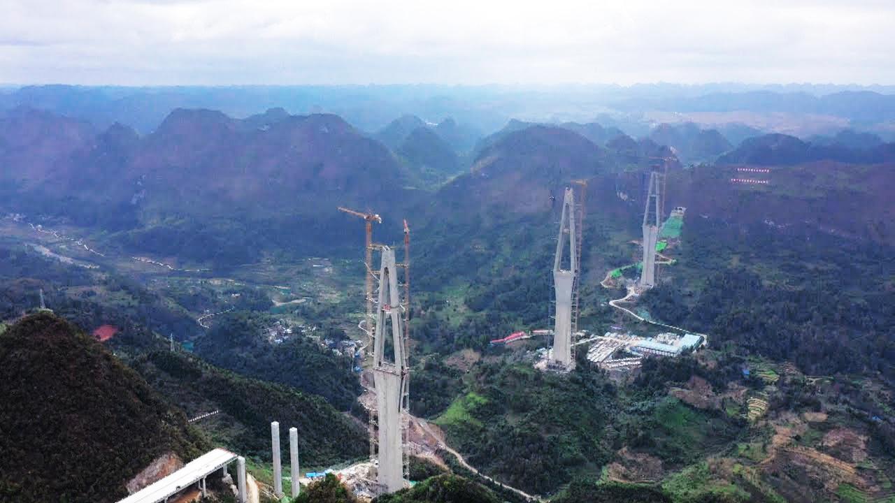 Dự án cầu bê tông cốt thép cao nhất thế giới của Trung Quốc