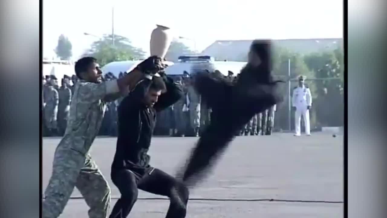 Khi các binh sĩ thể hiện 'võ nghệ siêu quần'